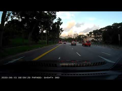 Morning Drive, Clementi Road, Singapore 2020
