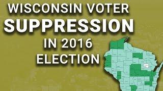 Voter ID Suppressed 200,000 Wisconsin Votes; Trump Won by 22,748