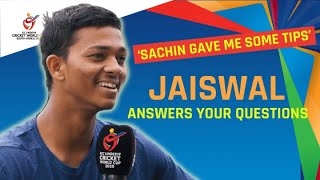 Yashasvi Jaiswal answers your questions!