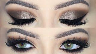 dramatic brown smokey eye makeup tutorial english
