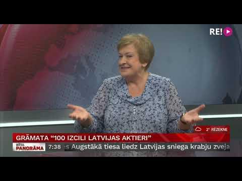 Intervija ar Silviju Radzobi, LU profesori, teātra kritiķi