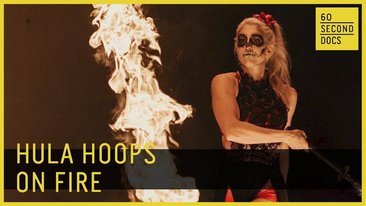 Meet a Professional Hula Hoop Fire Dancer