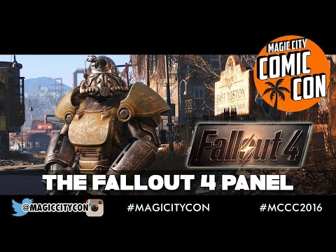 Fallout 4 Q&A with Brian Delaney and Courtenay Taylor at Magic City Comic Con Jan 2016