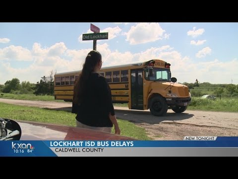 Lockhart parents frustrated with school bus delays
