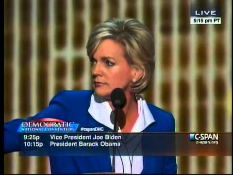 Fmr Gov. Jennifer Granholm Remarks at 2012 Democratic National Convention