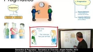 SEM101 - Semantics - An Overview