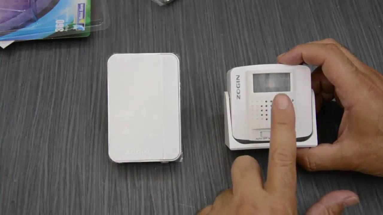 Timbre foxpic con sensor de movimiento aviso de presencia for Sensor de presencia