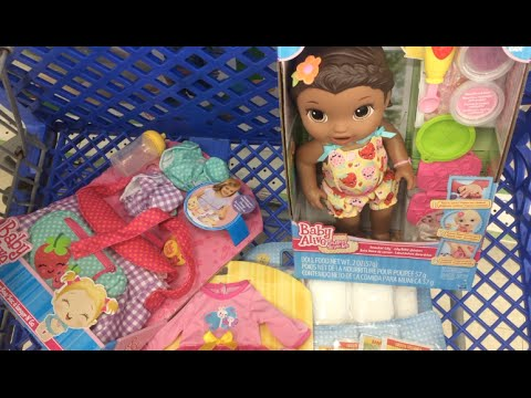 My Trip to Toys-R-Us ???? Shopping for Baby Alive Dolls and Accessories.