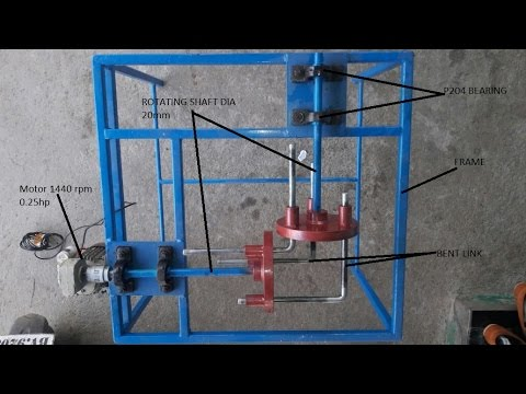 Mechanical Engineering project Gearless Power Transmission