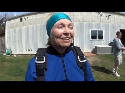 Nanette's Tandem Skydive @ Midwest Freefall 4-May-13