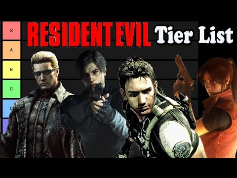 RANKING EVERY RESIDENT EVIL GAME IN THE SERIES! RESIDENT EVIL TIER LIST!