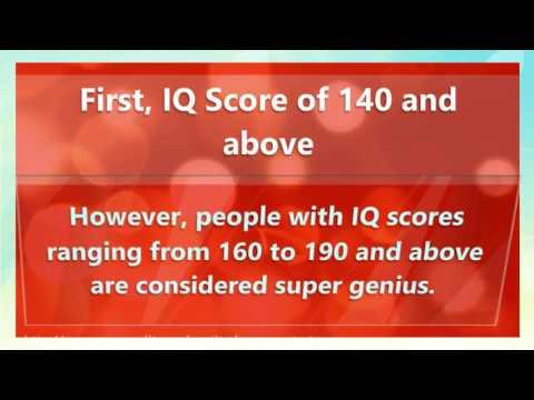 Download Youtube: High IQ Score- What is a high IQ Score?