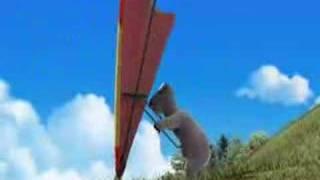 Polar Bear - Hang Gliding