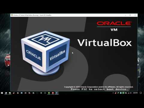 How To Install Windows XP Vortex 3G Red Edition Full Complete On VirtualBox