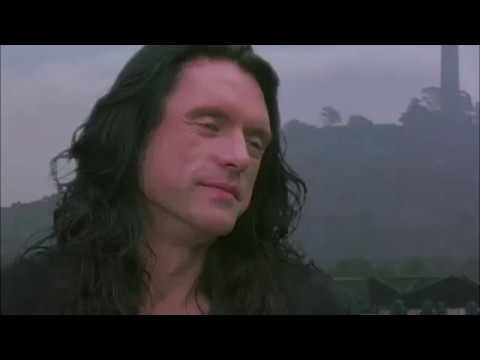 The Room but there's no dialogue