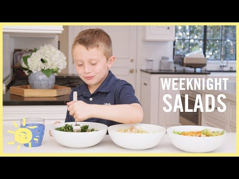 EAT | 3 Easy Kid-Approved Salads