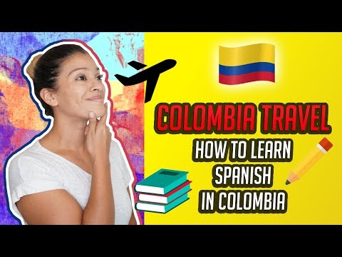 🇨🇴Colombian Travel - How To Learn Spanish In Colombia