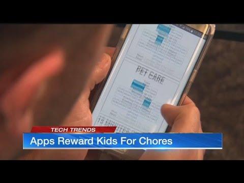 Apps Reward Kids For Chores