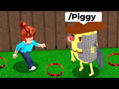 PIGGY But I Use ADMIN COMMANDS to WIN..