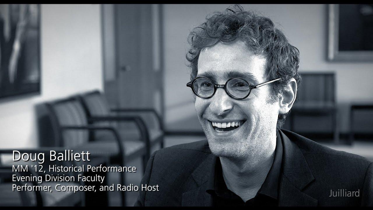 Juilliard Snapshot: Doug Balliett on William Christie