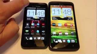 HTC Droid Incredible 4G LTE vs. HTC One X