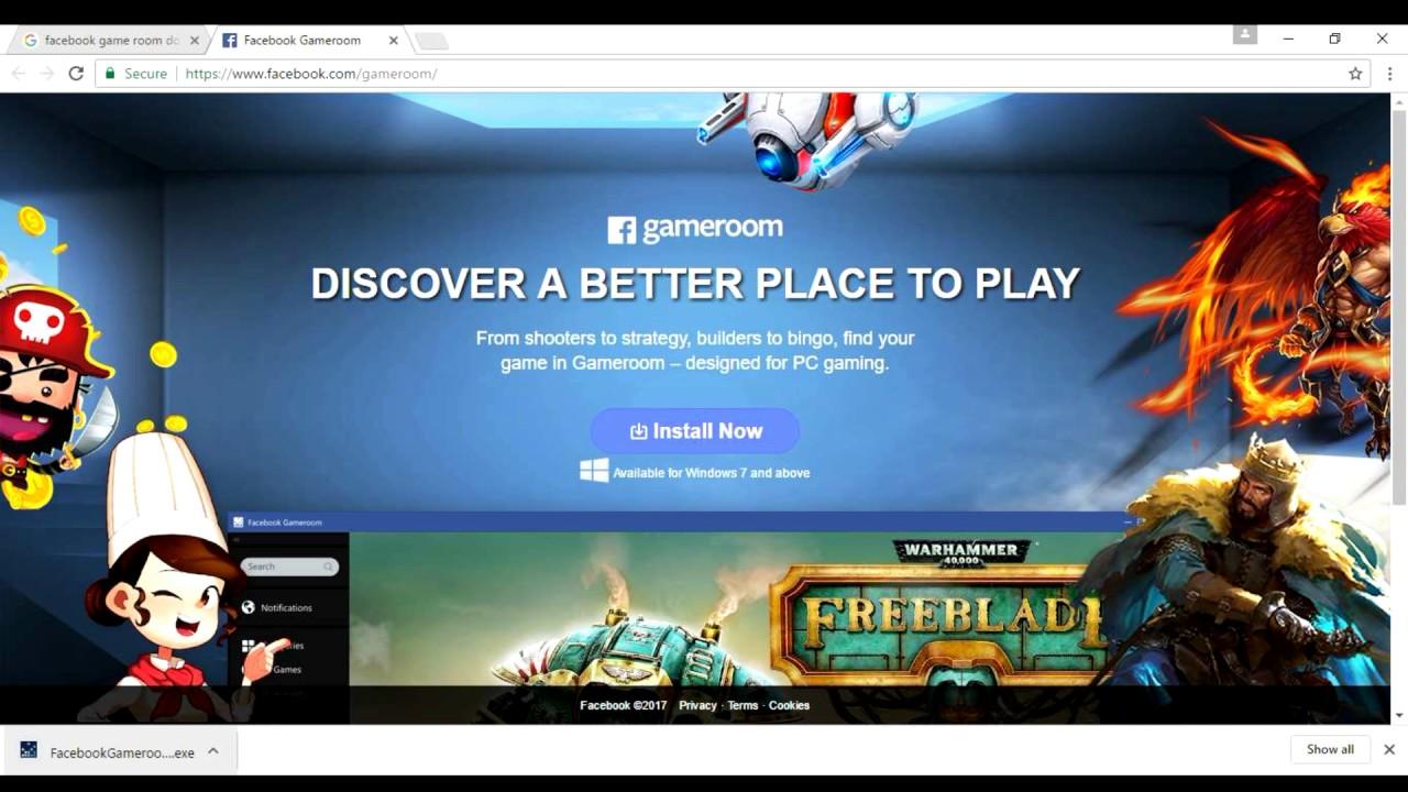 Image result for Facebook Gameroom : Download & Install Facebook Gameroom