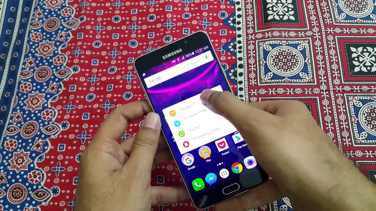 How to Enter Download Mode on Samsung Galaxy A7 2016