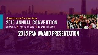 2015 Annual Convention: Public Art Network Award Presentation
