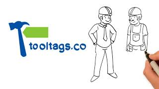 """Tooltags is the #1 alternative tool tracker to """"milwaukee one key"""" """"dewalt connect"""" and tick""""... are you tired of wasting time money on m..."""