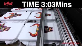 DTG - M6 Printing Speed Test