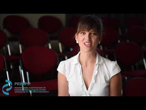 PEEMPIP - Dr. Zoi Resta, FIT Interpreting Excellence Prize winner