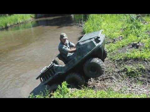 Six Wheeler Amphibious Vehicle ATV Action Max 2