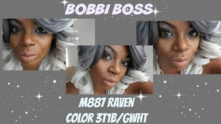 Sexy Silver Hair : Bobbi Boss M887 Raven