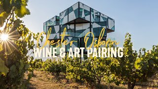 Wine & Art Pairing with Chester Osborn at the d'Arenberg Cube | LIVE from Aus,  McLaren Vale