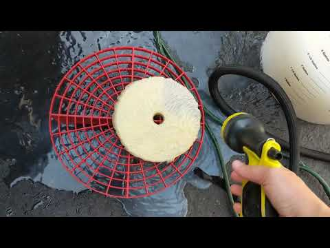 HOW TO CLEAN YOUR POLISHING PADS ON THE FLY!