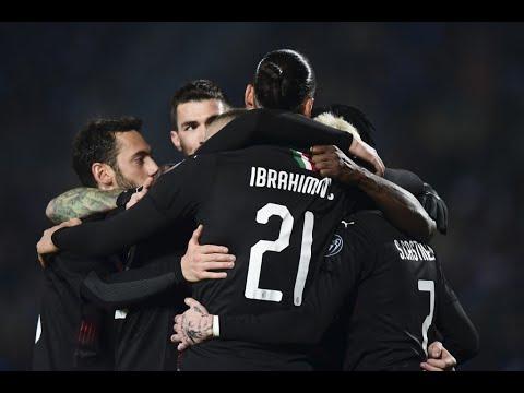 ملخص مباراة ميلان وبريشيا1-0 | صحوة ميلان تتواصل بفضل البديل ريبيتش | الجولة 21 من الدوري الإيطالي