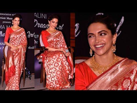 Deepika Padukone's Latest Sari Look Is The Festive Look We All Need