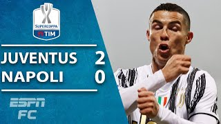 Cristiano Ronaldo powers Juventus to NINTH Italian Supercoppa title vs. Napoli! | ESPN FC Highlights