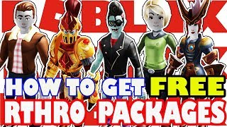 HOW TO BE ANTRHO IN ROBLOX + 5 FREE PACKAGES! - Roblox Rthro Is Here
