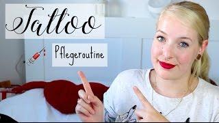 TATTOO Pflegeroutine - Wie pflege ich mein frisches Tattoo I Frollein Tee