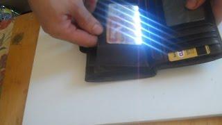 Фонарик своими руками из пластиковых карточек(Светодиодный фонарик с аккумулятором от телефона и корпусом из пластиковых карточек. 0:09 необходимые матер..., 2016-02-15T04:24:46.000Z)