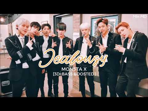 [3D+BASS BOOSTED] MONSTA X (몬스타엑스) - JEALOUSY | Min MD