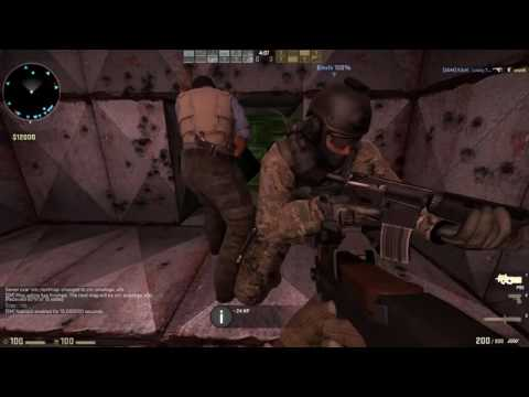Counter Strike  Global Offensive   Zombie Mod Gameplay   5 Maps