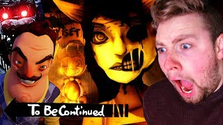 Ultimate To Be Continued Meme Horror Game Edition Challenge - Compilation