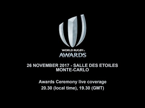 We're LIVE for the #WorldRugbyAwards in Monaco! For more info head to worldrugby.org/awards