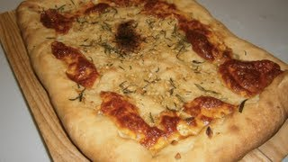 Focaccia Garlic & Oregano - Video Recipe
