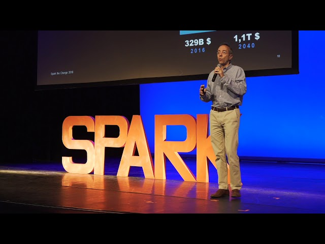 Digital disruption through space | Christophe De Hauwer | Spark the Change