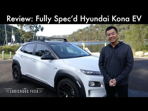 Review: Fully Spec'd Hyundai Kona EV (Highlander)