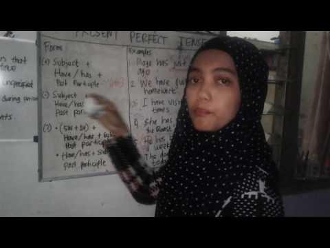 TEACHING PRESENT PERFECT TENSE FOR SENIOR HIGH SCHOOL STUDENTS || PRE-TEST VIDEO