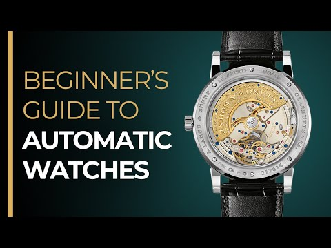 The Automatic Watch Beginner's GUIDE - How To Wind An Automatic Watch